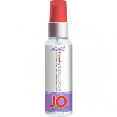 JO FOR WOMEN LUBRICANTE AGAPE EFECTO CALOR 60 ML