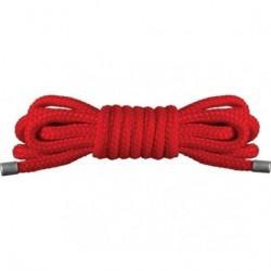 cuerda mini japonesa roja