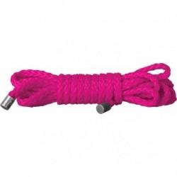 cuerda mini kinbaku rosa 1,5 m