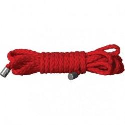 ouch mini kinbaku rojo 1,5 m