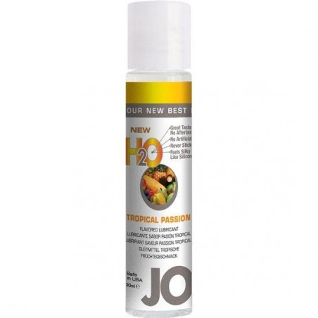 JO LUBRICANTE AGUA SABOR TROPICAL 30 ML