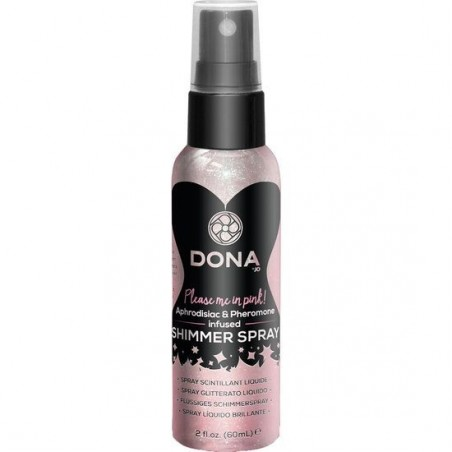 DONA SPRAY LIQUIDO BRILLANTE ROSA 60 ML
