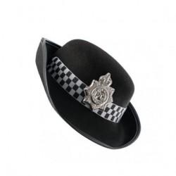 PICARESQUE - SOMBRERO POLICE NEGRO