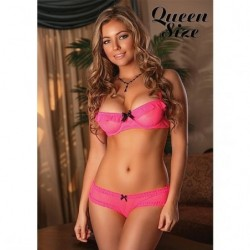 MAGIC SILK CONJUNTO 2 PIEZAS CORAL