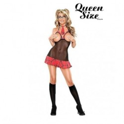 MAGIC SILK HOT ANGEL CONJUNTO ALUMNA PICANTE ROJO