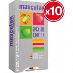 MASCULAN PRESERVATIVOS AROMATICOS 10 UDS (10 CAJAS)