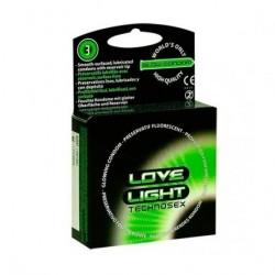 LOVE LIGHT FLUORESCENTES 3 UDS.