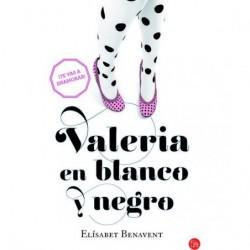 VALERIA EN BLANCO Y NEGRO....