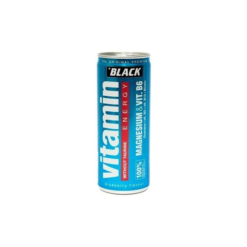 BLACK VITAMIN ENERGY BEBIDA ESTIMULANTE SIN TAURINA
