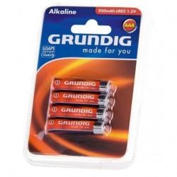GRUNDIG ALCALINA LR03/AAA 4 PCS