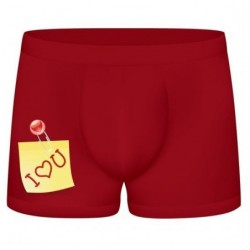FUNNY BOXERS I LOVE YOU...