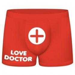 FUNNY BOXERS LOVE DOCTOR ROJO