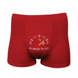 FUNNY BOXERS 45 MILES TO GO...