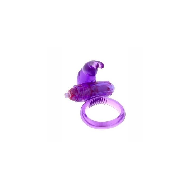 anillo vibrador con estimulador de clítoris