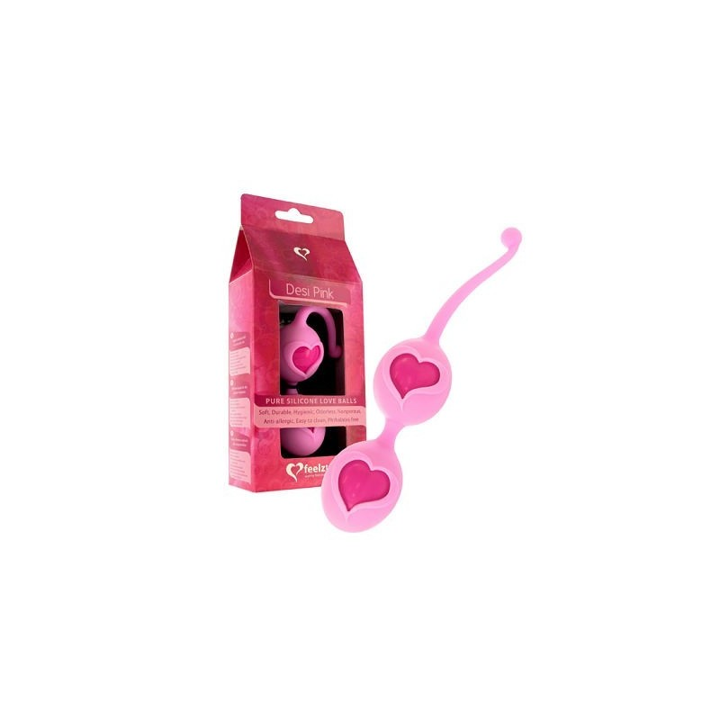 feelztoys desi bolas chinas rosa