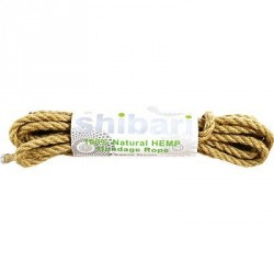 CUERDA SHIBARI NATURAL HEMP 5 M