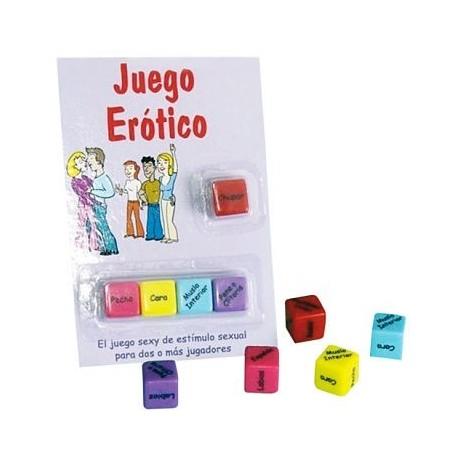JUEGO DE DADOS EROTICOS