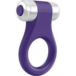 Ovo B1 anillo vibrador lila