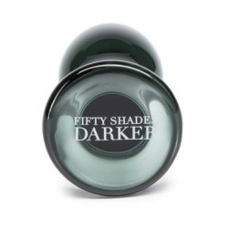 FIFTY SHADES DARKER SOMETHING DARKER GLASS PLUG ANAL
