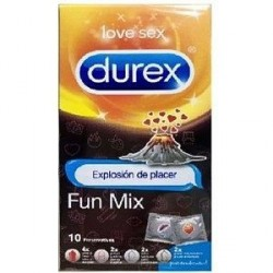 DUREX PRESERVATIVOS FUN MIX 10 UDS