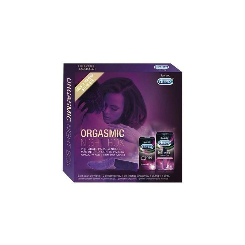 DUREX ORGASMIC NIGHT BOX PACK INTENSE