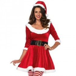 LEG AVENUE SANTA SWEETIE 3PCS SET