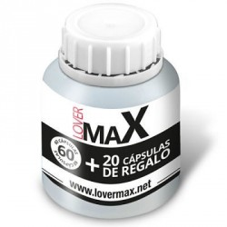 LOVERMAX STRONG MEN VIGORIZANTE 60 + 20 CÁPSULAS GRATIS