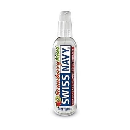 SWISS NAVY LUBRICANTE FLAVORS FRESA Y KIWI 118 ML