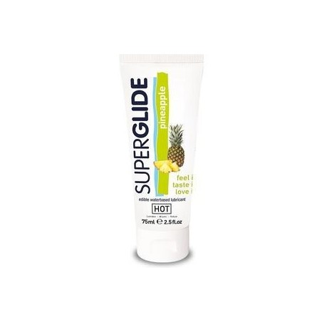HOT SUPERGLIDE LUBRICANTE COMESTIBLE PIÑA