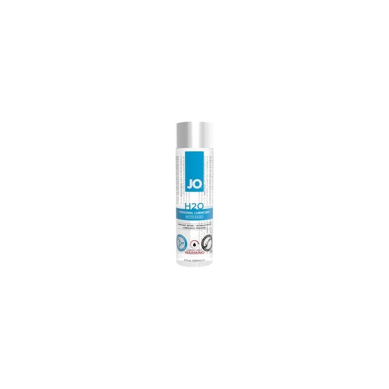 jo h20 lubricante base de agua efecto calor