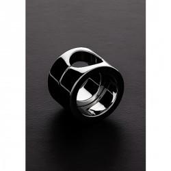 c&b anillo de metal para pene y testículos