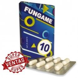 FUNGAME CÁPSULAS 10 UDS