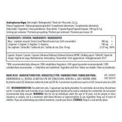 andropharma ingredientes cápsulas