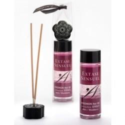 extase sensuel aceite masaje efecto calor feromonas mora
