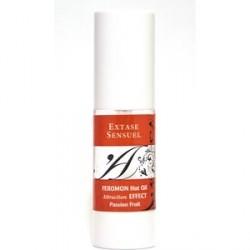 extase sensuel aceite masaje con feromonas efecto calor sabor fruta pasión