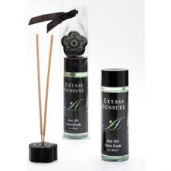 extase sensuel aceite masaje efecto frío calor