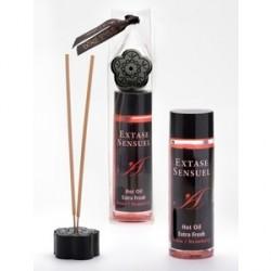 extase sensuel aceite masaje efecto extra fresh fresa