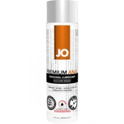 jo lubricante anal premium con efecto calor 135 ml