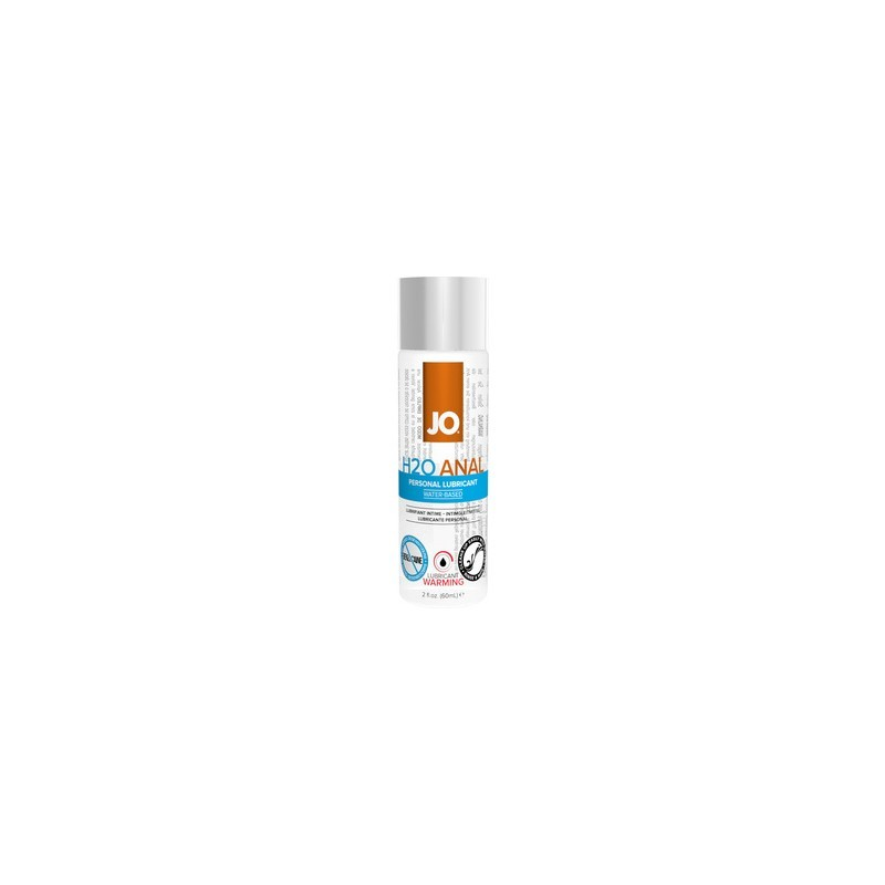 jo lubricante anal base agua efecto calor 75 ml