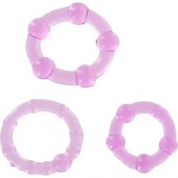 juego tres anillos pene lila seven creations