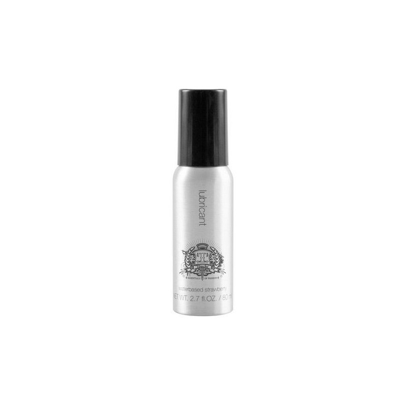 TOUCHE LUBRICANTE SABOR FRESA BASE AGUA 80 ML