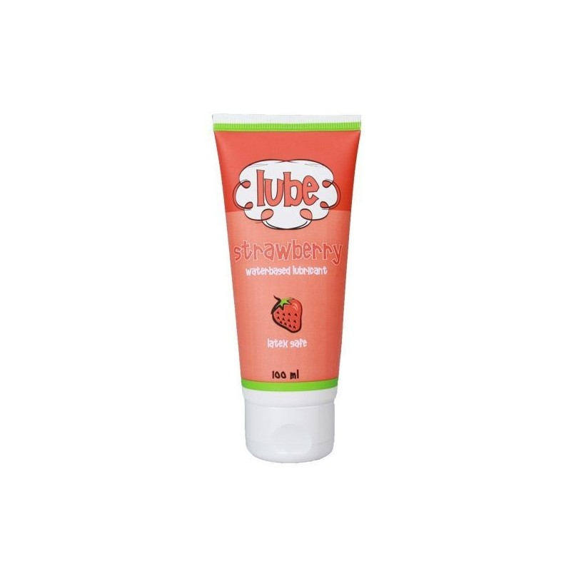 LUBRICANTE BASE AGUA FRESA 100 ML