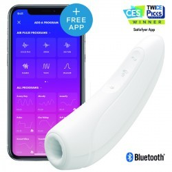 satisfyer curvy 1+ con app blanco