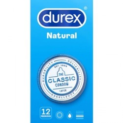 durex natural plus 12 preservativos