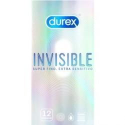 durex invisible extra fino 12 preservativos