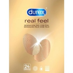 durex real feel 24 preservativos