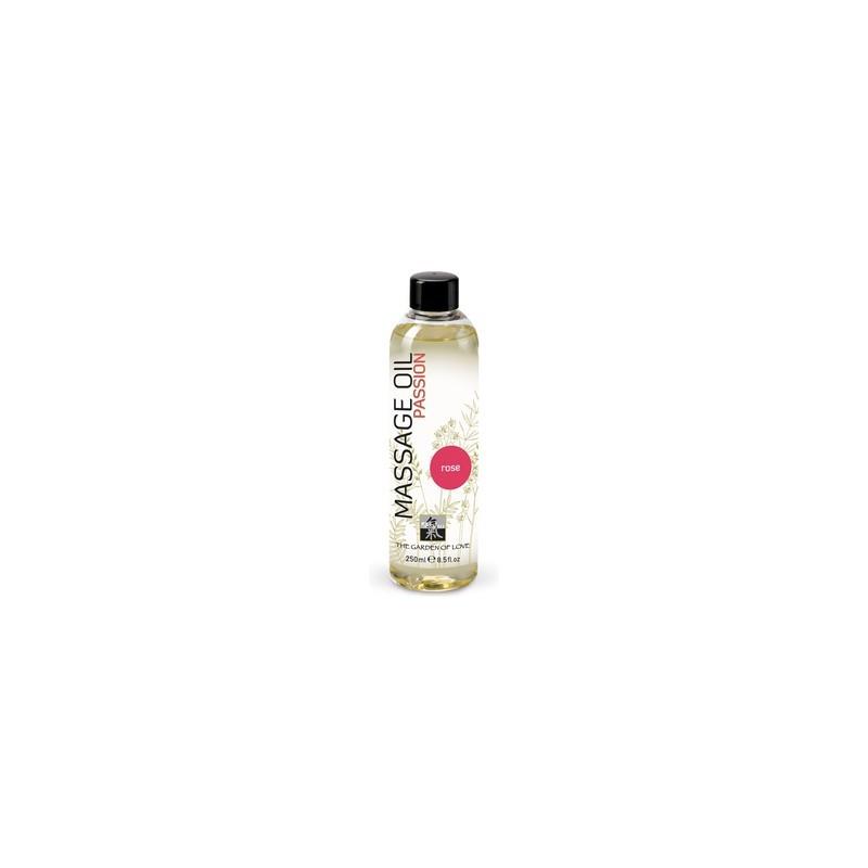 shiatsu aceite de masaje afrodisiaco de rosas