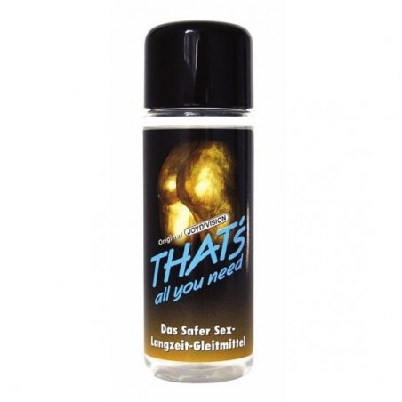 THATS ALL YOU NEED LUBRICANTE 100 ML
