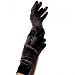 LEGAVENUE GUANTES SATIN NEGRO