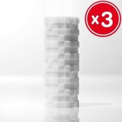 TENGA 3D MODULE SCULPTED ECSTASY (3 UNIDADES)